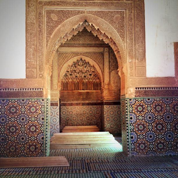 モロッコのマラケシュのバイア宮殿