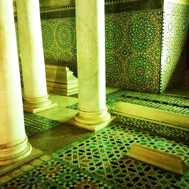 モロッコのマラケシュバイア宮殿